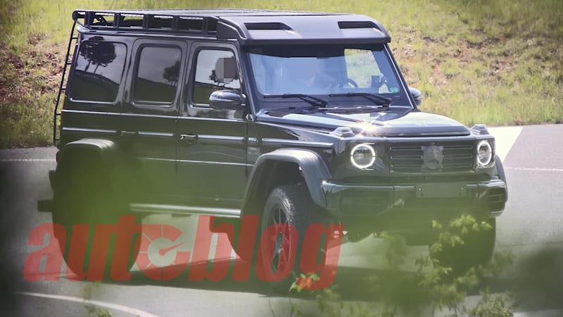 Next-generation Mercedes-AMG G-Class 4x4 Squared spied undisguised