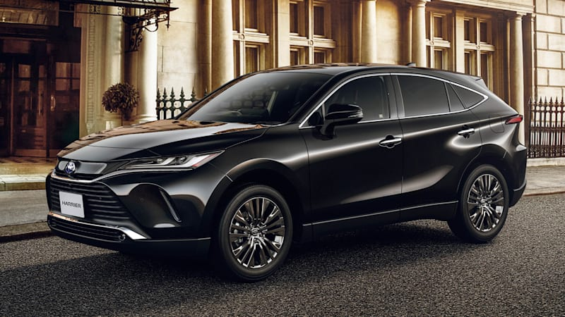 2021 Toyota Venza, like past Lexus RX models, is actually a Toyota Harrier
