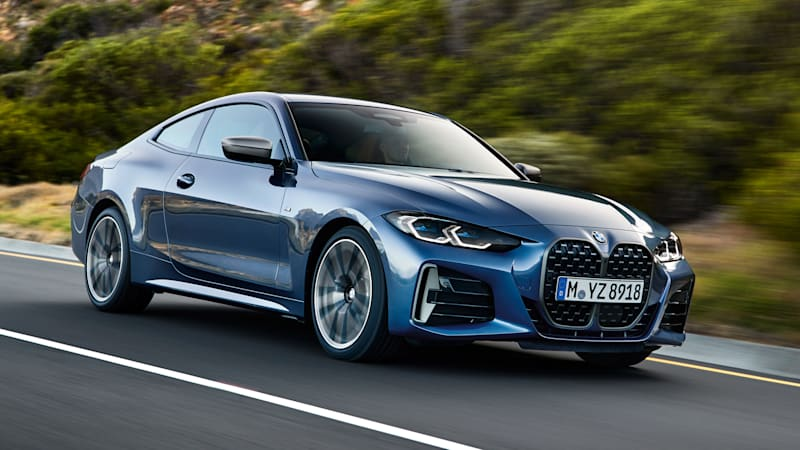 2021 BMW 4 Series coupe revealed with big grille, no manual