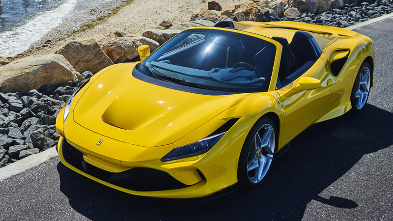 2020 Ferrari F8 Spider First Drive   Driving impressions, performance, specs, photos
