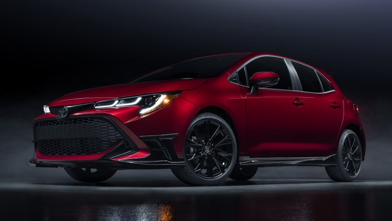 2021 Toyota Corolla hatchback gets new features and a sharp special edition