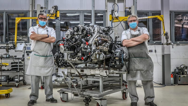 Bentley's 6.75-liter V8 reaches the end of a 61-year run