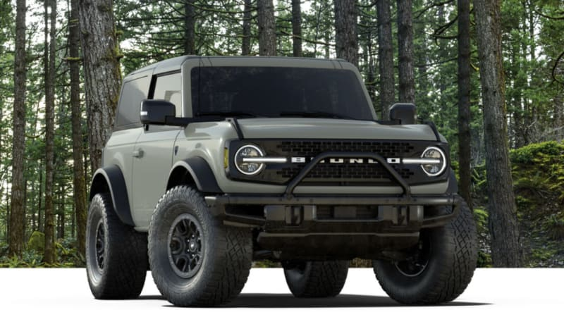 2021 ford bronco first edition production doubled  autoblog