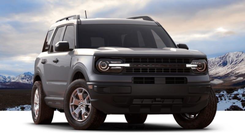 2021 Ford Bronco Sport priced around $28,000 1