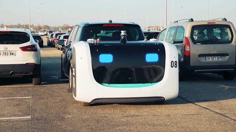This autonomous robot will park your car for you 1