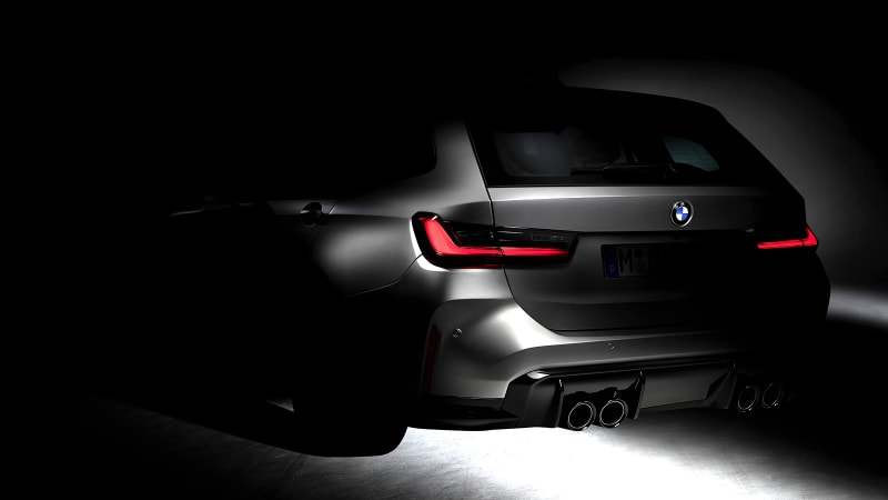 BMW M3 Touring station wagon teased online