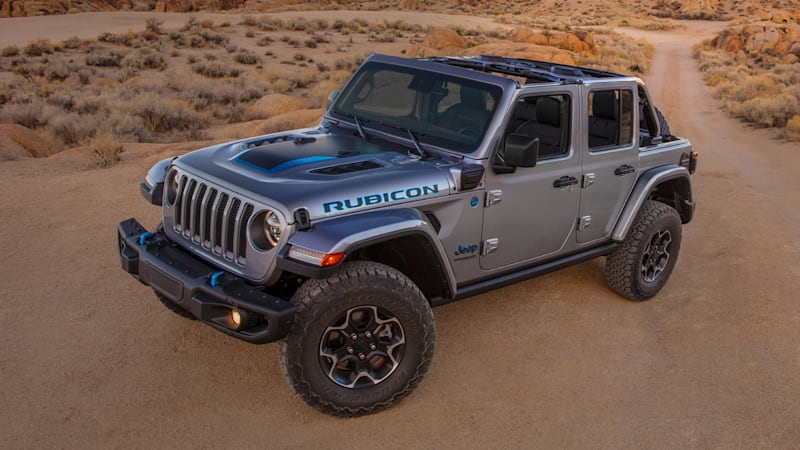 Jeep Wrangler 4xe plug-in hybrid pricing announced