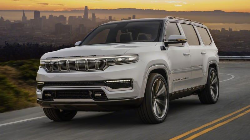 jeep grand wagoneer revealed as a highend plugin hybrid