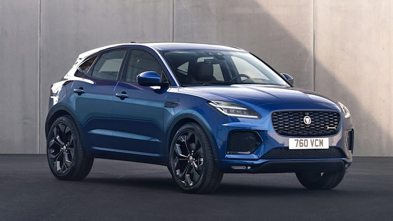 2021 Jaguar E-Pace updated with new infotainment, more ...