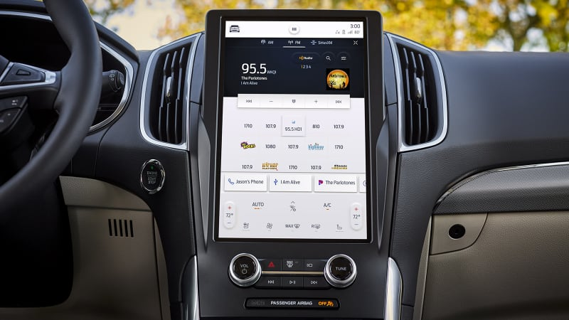 2021 Ford Edge gets a big new infotainment screen, but not much else