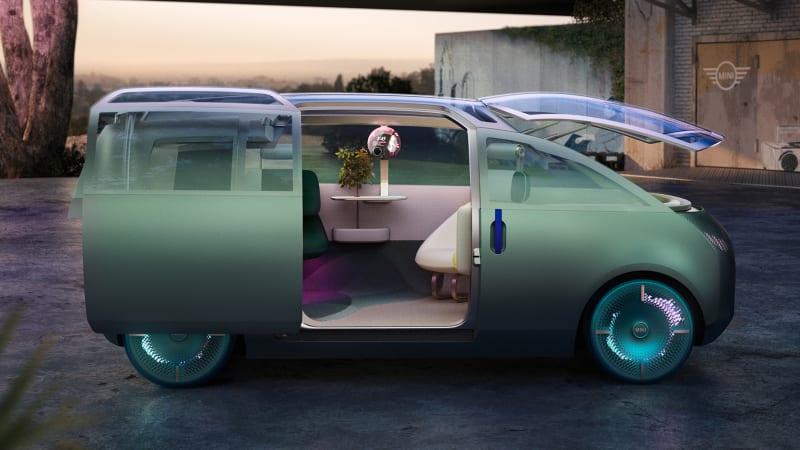 Meet the Mini Urbanaut concept: an autonomous Mini minivan