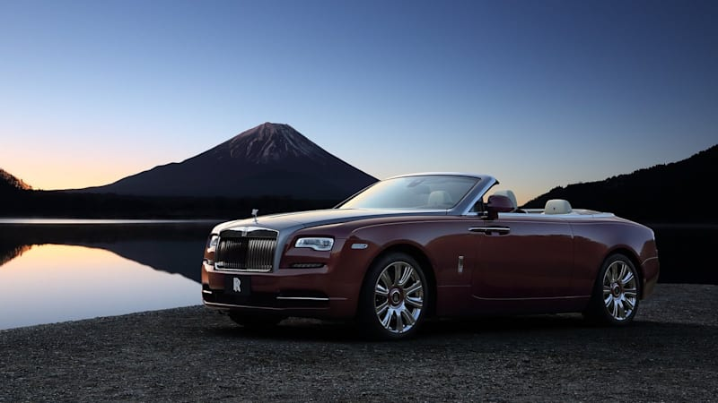 The Rolls-Royce Dawn leads this month's list of discounts