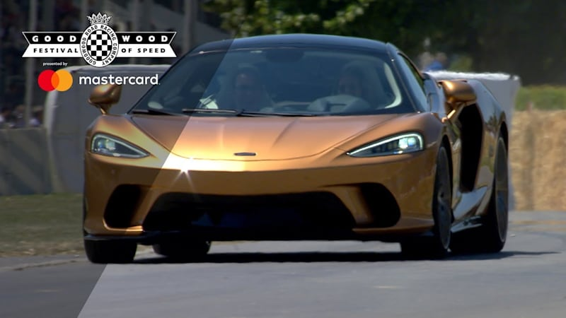 McLaren GT does the Goodwood Festival of Speed hillclimb - Autoblog