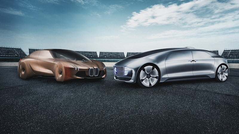 Mercedes and BMW cars will drive themselves on the autobahn