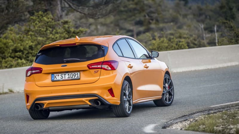 2020 Ford Focus ST Fury Orange hatchback
