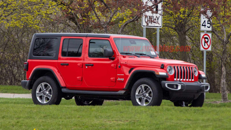 2020 Jeep Wrangler Gets Price Increase New Mix Of Engines And Options Autoblog