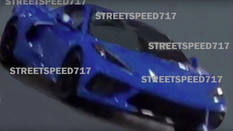 Mid-engine C8 Chevy Corvette leaked on YouTube?   Autoblog