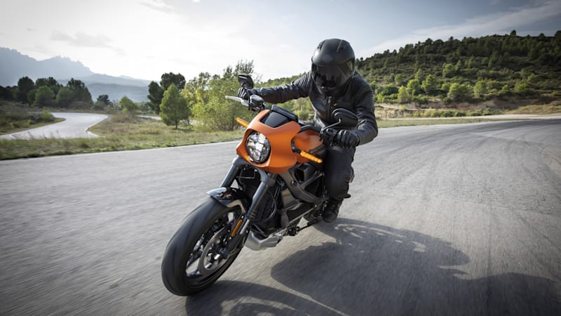 Harley-Davidson LiveWire breaks electric motorcycle distance record