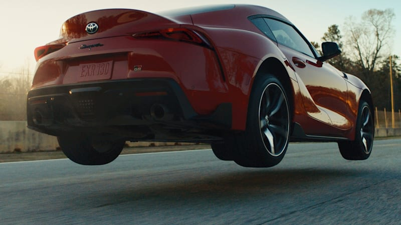Watch the 2020 Toyota Supra get some air in its new commercial