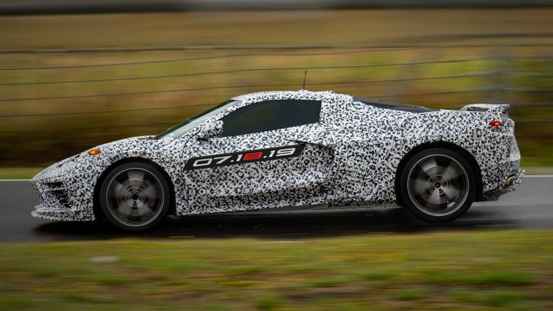 2020 Chevy Corvette Stingray C8 reveal live stream   Watch it here - Autoblog