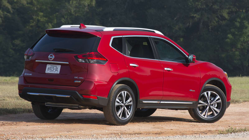 Nissan Rogue Hybrid discontinued for 2020 model year