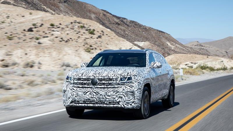 2020 VW Atlas Cross Sport Prototype First Drive Review