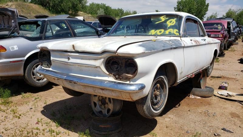 Junkyard Gem: 1963 Chevrolet Corvair Monza Club Coupe