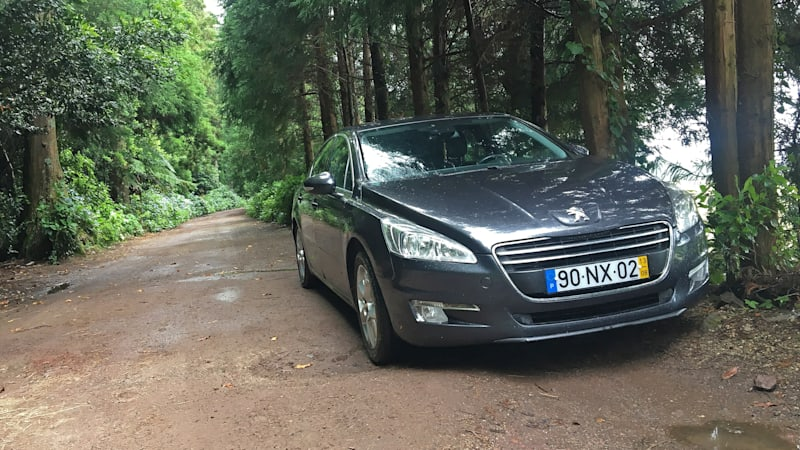 2013 Peugeot 508 rental car review in the Azores