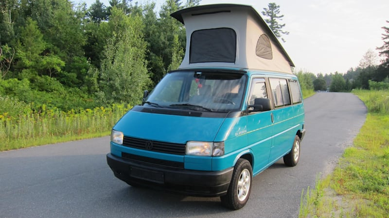 This VW Westfalia Camper Has A Diesel A Manual And Some