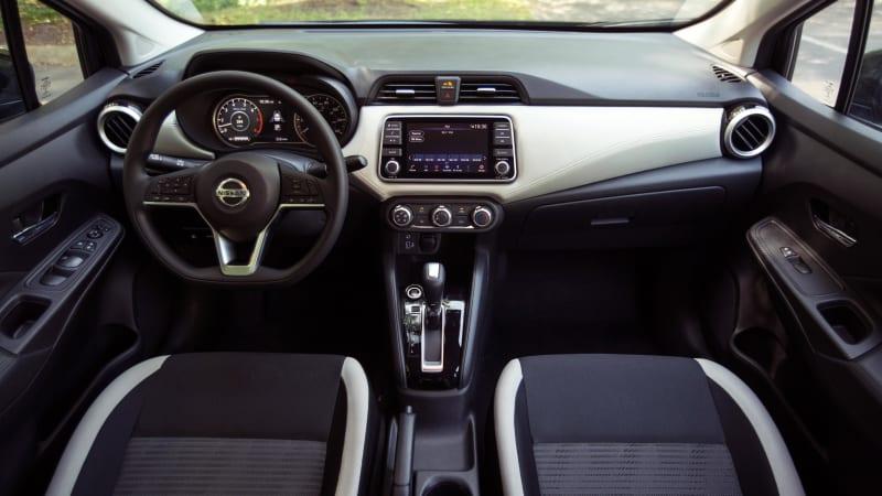 2020 Nissan Versa SV interior