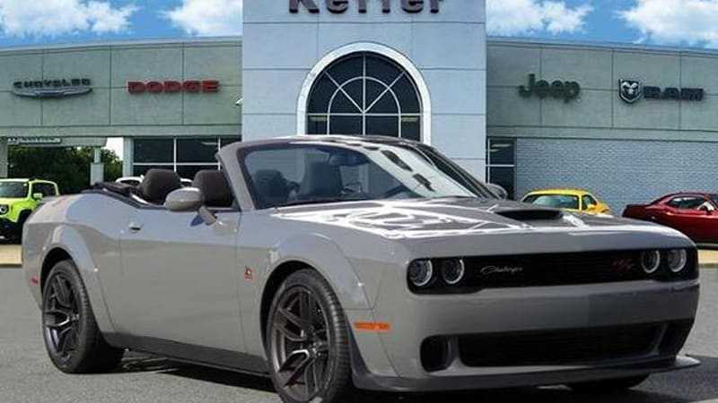 2019 Dodge Challenger convertible for sale in North Carolina | Autoblog