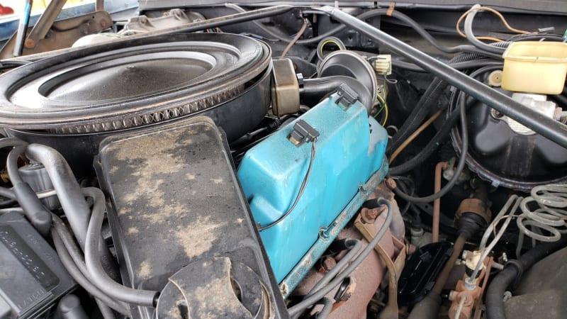 Junkyard Gem 1981 Cadillac Eldorado With V8 6 4 Engine Autoblog