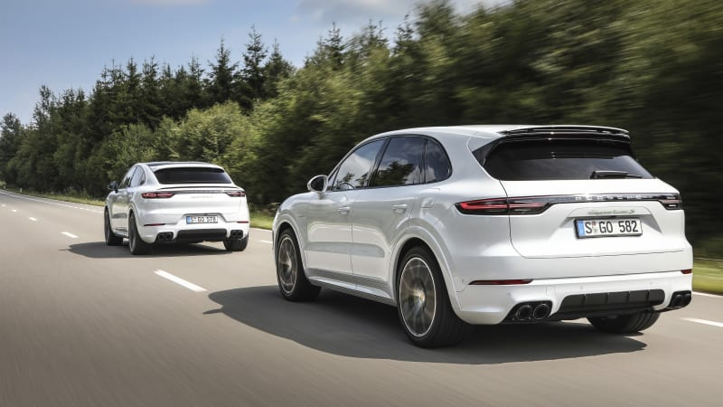 2020 Porsche Cayenne Turbo S E Hybrid And Cayenne Coupe E Hybrid Announced Autoblog