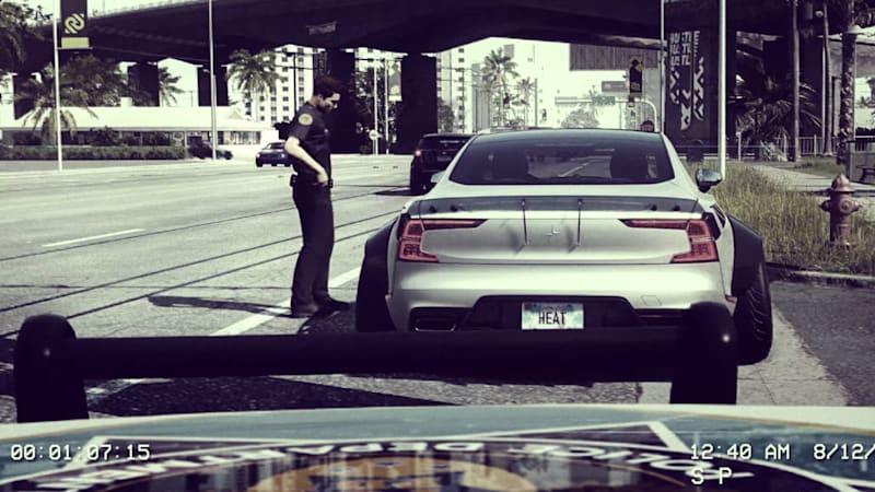 Need For Speed Heat Trailer Envisions Custom Widebody Polestar 1s