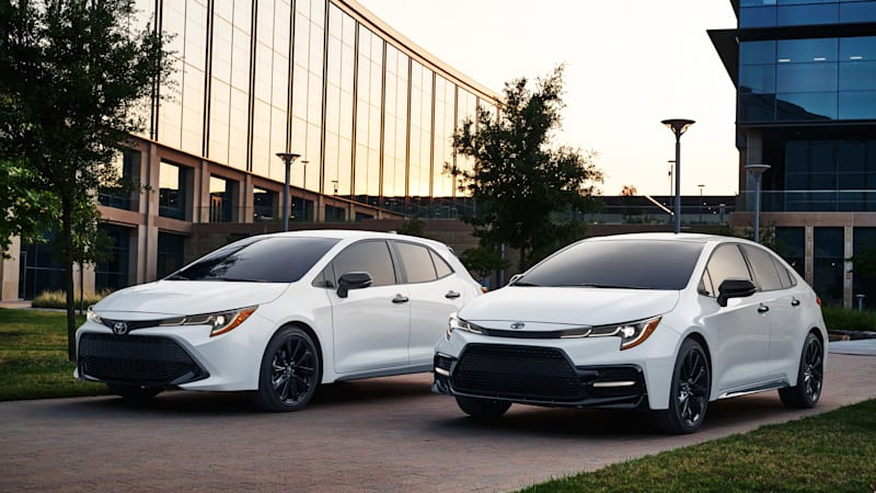 2020 Toyota Corolla Nightshade Edition takes a dark turn