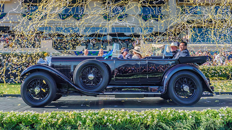 Bentley Crowned Best of Show at The 2019 Pebble Beach Concourse d'Elegance