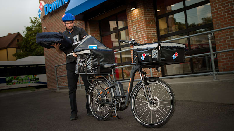 Your next Domino's pizza could be delivered by electric bike