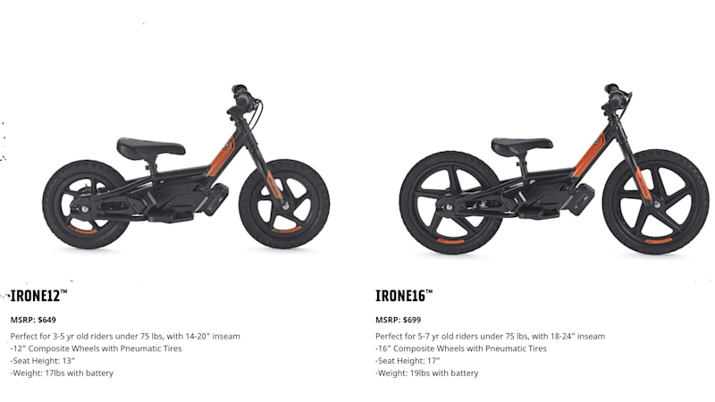 Sons of energy: Your kids could own an electric Harley for only $649