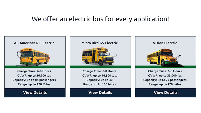 Blue Bird has taken more than 100 orders for electric school buses