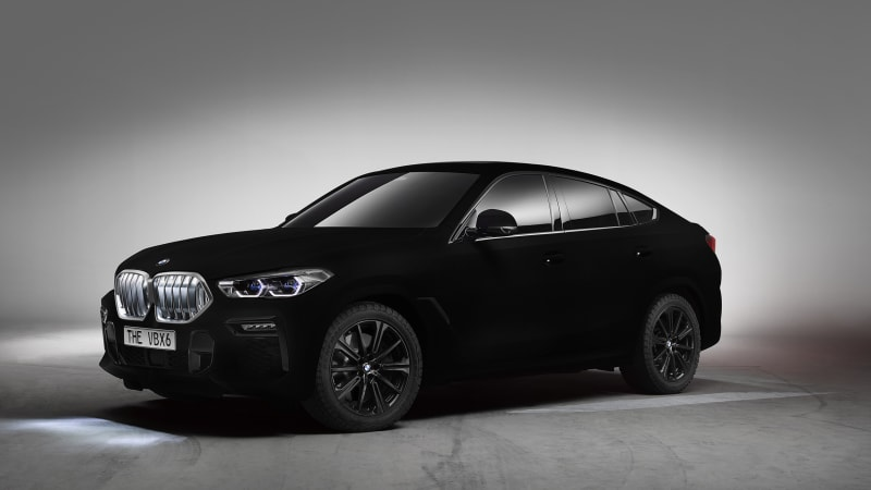 Bmw X6 2020 Black Rims