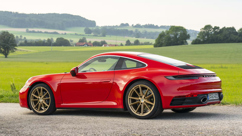 2020 Porsche 911 Carrera First Drive Review Specs Photos Impressions Autoblog