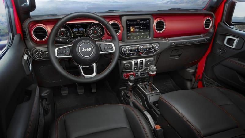 Wrangler Rubicon 4 Door 2020 Jeep Rubicon Interior