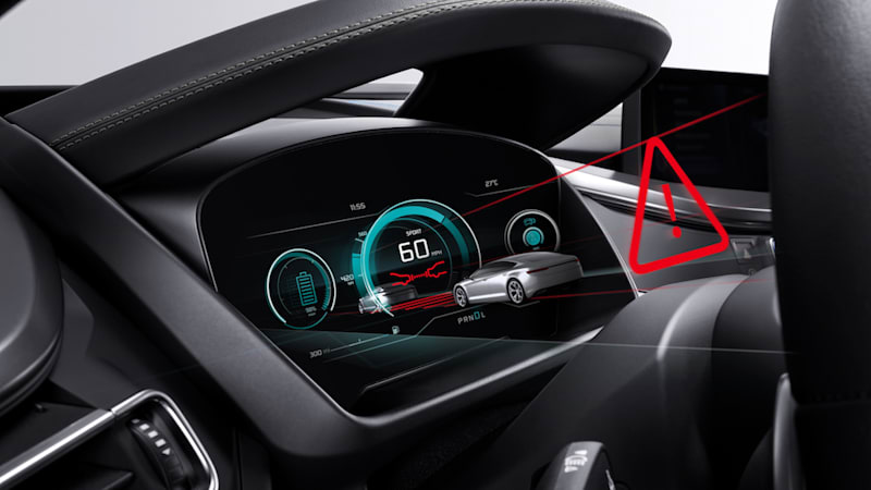 Bosch is developing 3D cockpit displays