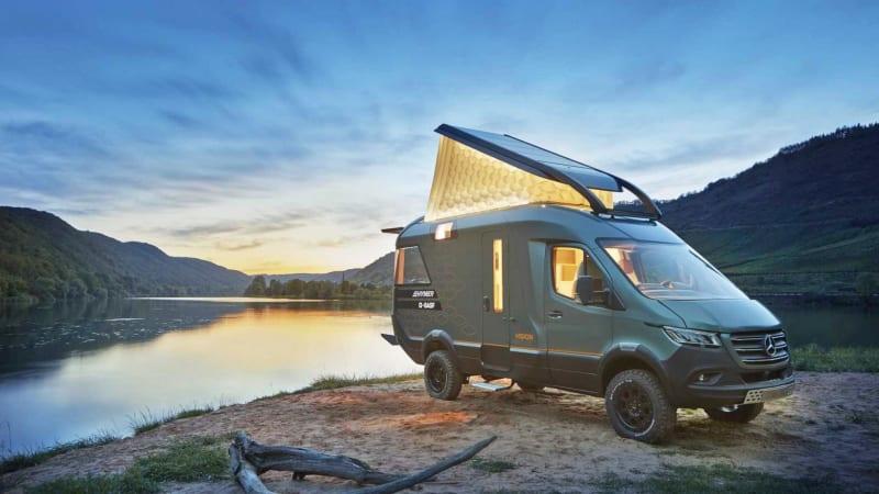 Концептуальный автофургон Hymer's Sprinter - как будет выглядеть фургон в 2025 году