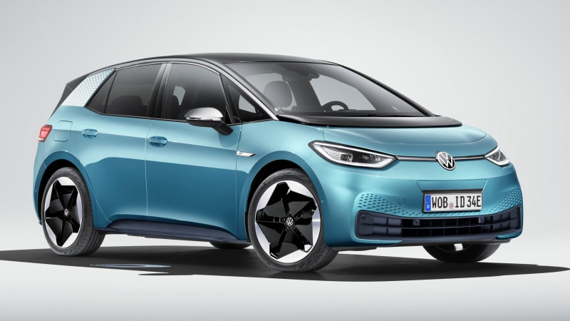VW ID 3 EV revealed with 3 battery sizes, 205- to 341-mile