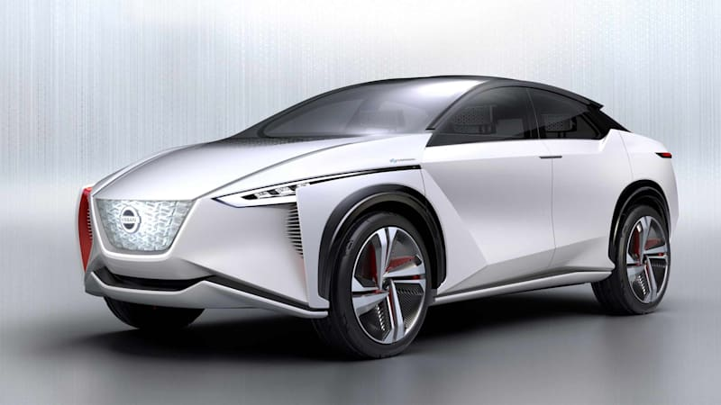 Nissan previews coming IMX-inspired EV crossover for U.S. dealers