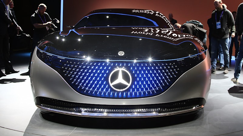 Mercedes-Benz EQS, next-generation S-Class both coming in