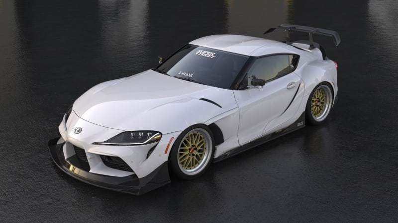2020 Toyota Supra gets 'Fast & Furious'-worthy body kit for SEMA