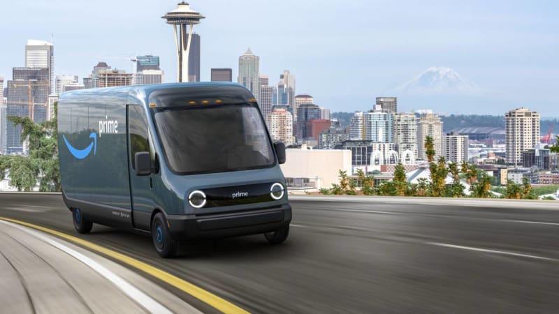 Amazon is ordering 100,000 Rivian electric delivery vans