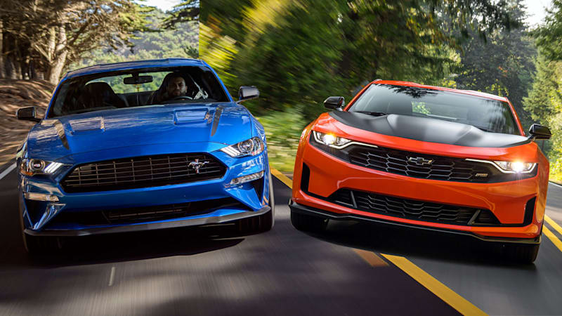 Camaro Vs Mustang >> 2020 Ford Mustang Ecoboost Hpp Compared With 2019 Chevy